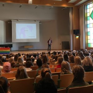 Föreläsning för gymnasieelever i Kalmar